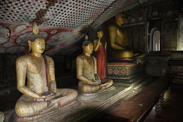 grottes de dambulla - sri lanka