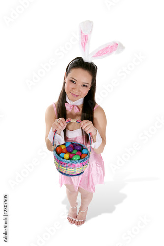 cute easter rabbit
