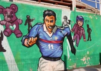 banlieue : tag, graffiti