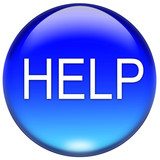 help button poster