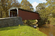 amish covered bridge