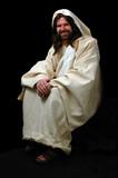 jesus sitting poster