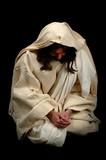 jesus in prayer poster