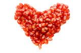 pomegranate heart poster
