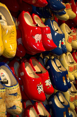 traditional handmade dutch wooden shoes