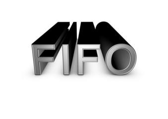fifo 3d sign