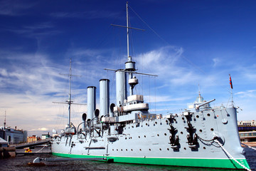 st.-petersburg.  cruiser aurora.