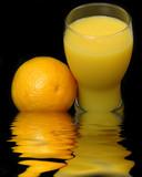 rising prices of orange juice poster