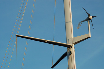 windmesser und mast