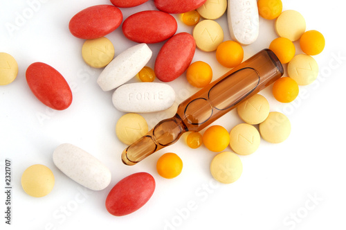 pills and ampules