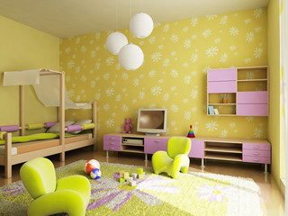 children's room interior