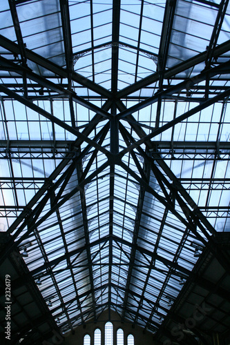 railway station roof