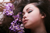 beautiful woman rejuvenating poster