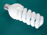 an energy efficient bulb poster