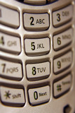 cell phone keypad poster