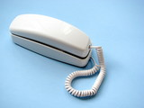 older white telephone poster
