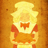 thanksgiving cook poster