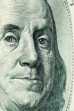 franklin face(one hundred dollars) poster
