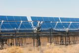 solar panels for alternative energy poster