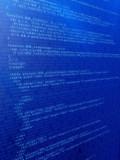 binärer code poster
