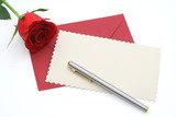 blank valentines day greeting poster