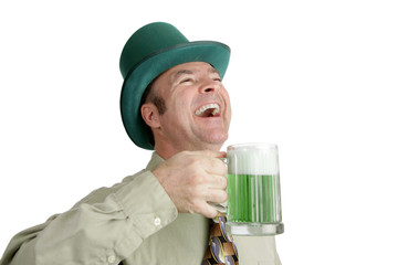 st patricks day laughter
