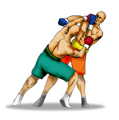 boxing left hook