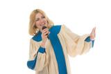 woman praise lead singer 3 poster