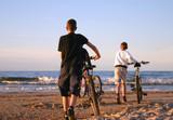 beach bikers poster