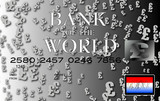 pound credit card silver poster