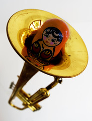 russian trumpet