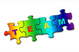 word team from puzzles poster
