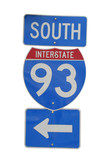 interstate 93 sign