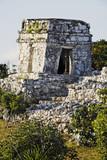 mayan archeologic site of tulum poster