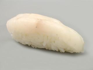 japanische steinbutt nigiri sushi