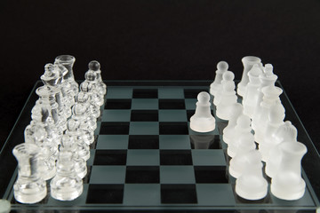 glass chess - let's play