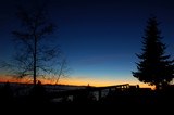 twilight on cypress mountain poster