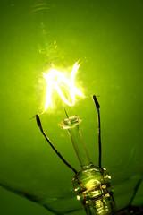 light bulb glow