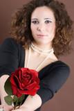 nimmst du die rose an poster