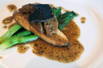 abalone dish