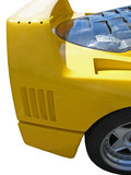 yellow kit car poster