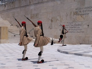 guards, athens, greece