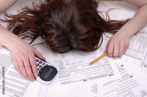 canvas print picture death by taxes