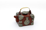treasure chest teapot poster