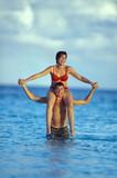 coppia in mare poster