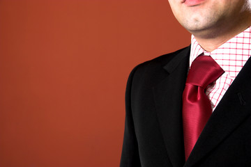 a businessman, clothing