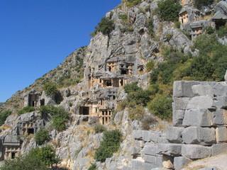 myra ruines view