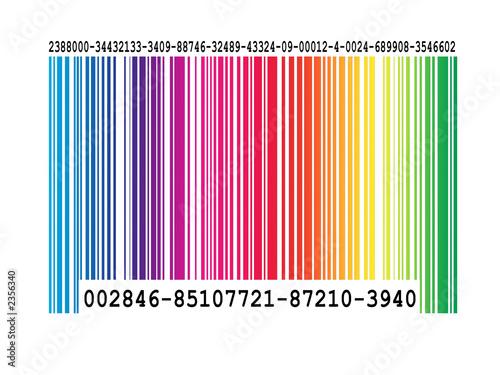 color bar code