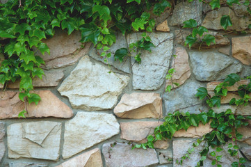 rock wall horizontal