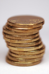 coins in stack